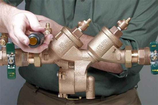 Backflow Prevention -